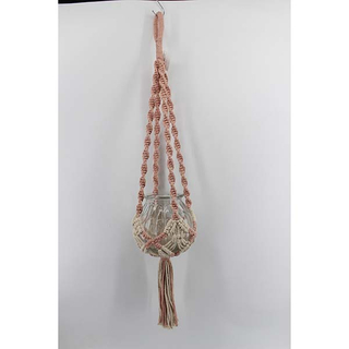 Macrame Plant Hanger 1810829 without the pot